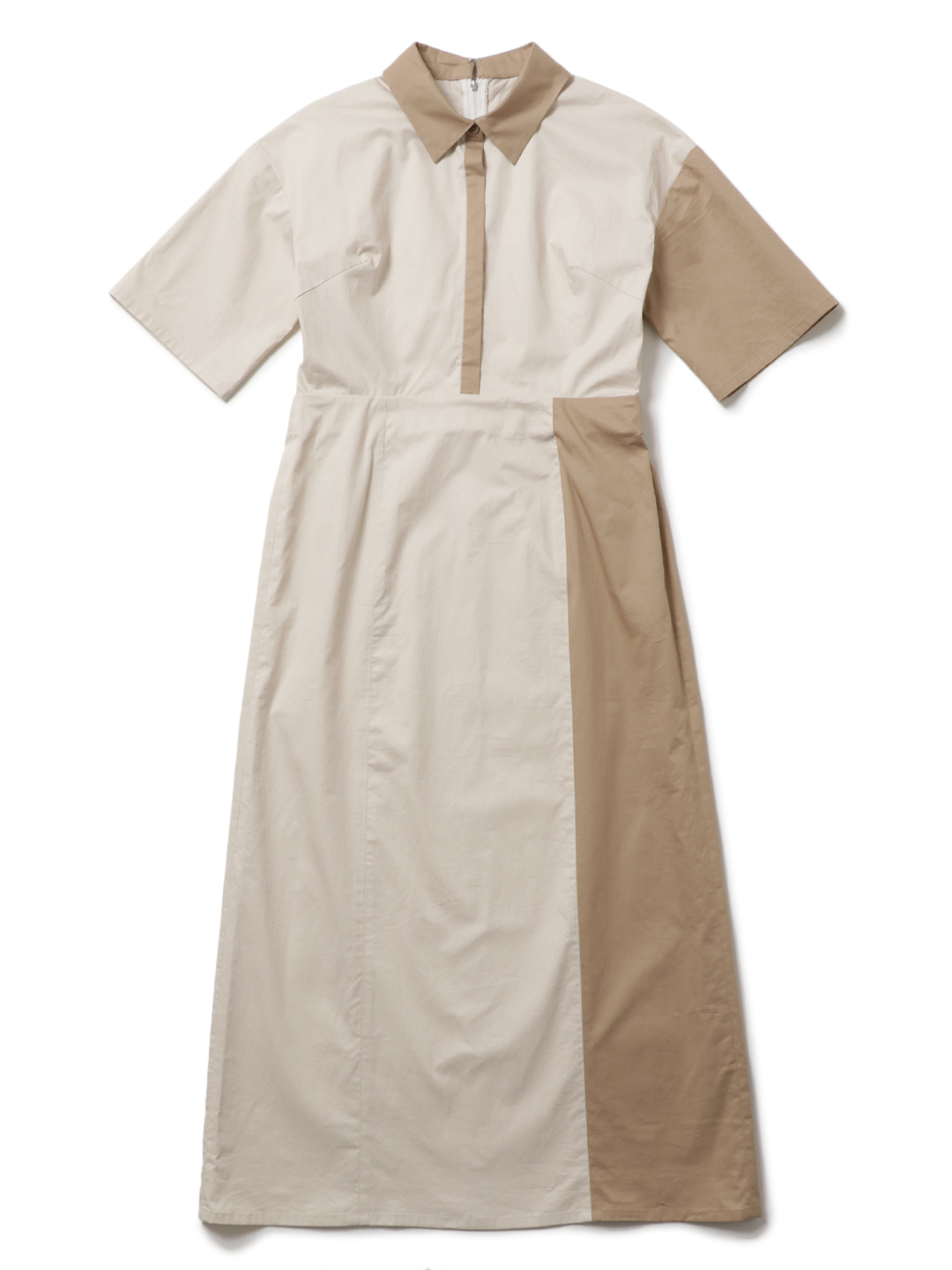 BY COLOR SHIRT DRESS